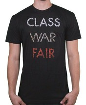 Freshjive Clase Guerra Fair Camiseta Negra Nwt M-2XL