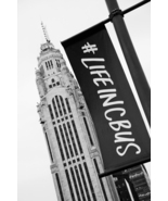 "Columbus, Ohio Black and White Wall Decor Print - ""LifeInCbus"" - $110.00"