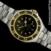 Omega Seamaster 200M Pre-Bond Dive Ss & 18K Gold Watch - Mint With Warranty - $1,465.10