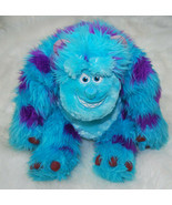 "Monsters Inc Sitting Sully Plush Toy Disney Pixar 20"" Stuffed Animal Blu... - $34.60"