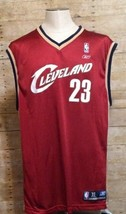 Lebron James Rookie #23 Cleveland Cavaliers 2004 Sewn Reebok Jersey Size XL - $32.18