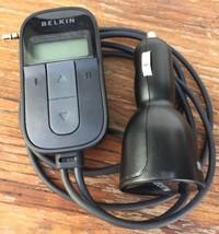 Belkin TuneCast Auto Universal Car FM Radio Transmitter MP3 iPod iPhone ... - $14.50