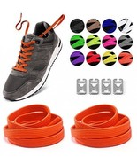 Elastic No Tie Shoelaces For Kids And Adults Sport Running Lazy Shoelace... - $15.35