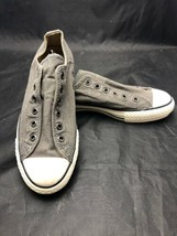 CONVERSE Chuck Taylor All Star Lo Ox Laceless Slip-on Canvas Sneakers Sz... - $22.72