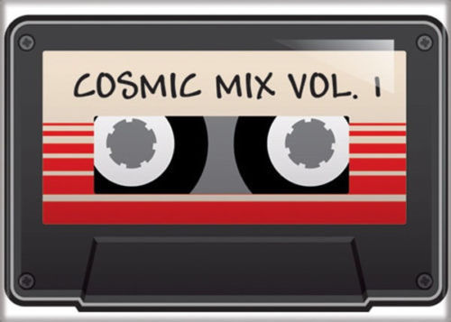 Guardians of the Galaxy Cosmic Mix Vol. 1 Cassette Art Image Refrigerator Magnet