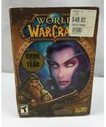 Vintage 2004 World Of Warcraft PC Game Windows 98 Mc 2000 XP Macintosh - $25.00