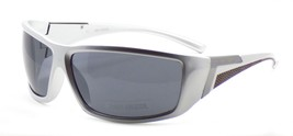 Harley Davidson HDX872 SI-3 Wraparound Sunglasses Silver 67-14-130 Smoke... - $42.31