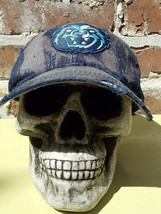 Black Bear Apocalyptic Destroyed Distressed Hand Dyed Cap Hat - $12.87