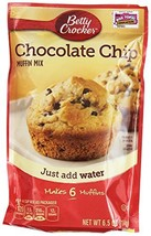 Betty Crocker Muffin Mix Chocolate Chip 6.5 Oz 12 Packs - $32.12