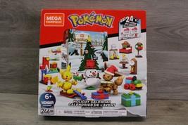 Mega Construx Pokemon Holiday Calendar Advent Calendar Building Set 246 ... - $34.60