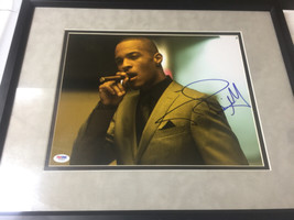 T.I. Signed Autographed 11x14 frame PSA DNA Authentication  - $299.99