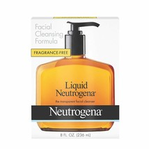 Neutrogena Fragrance-Free Gentle Facial Cleanser with Glycerin, Hypoallergenic & - $10.39
