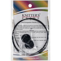 "Knitter's Pride-Interchangeable Cords 30"" (40"" w/tips)-Black - $6.21"