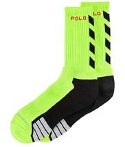 Polo Ralph Lauren Sport Men's Performance Crew Socks Green One Size 10-13 - $9.89