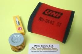 Fits: SUZUKI 83-89  LT /  ALT 125 Tune Up Kit   LT125  ALT125  For Stock Air Box - $39.97