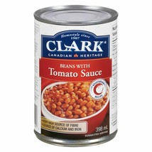 12 Clark Baked Beans with Tomato Sauce 398ml/14oz Canada ALWAYS FRESH  - $49.25