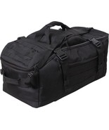 Black Tactical Mission Duffle Carry Bag Multi Functional Convertible Bac... - $93.99
