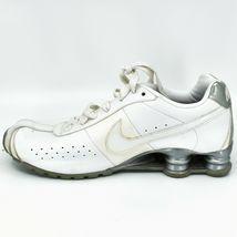 Nike Shox Classic II Women's White & Silver Running Sneaker Size 10 343907-111 image 7
