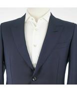 NEW $4,600 Gucci Blue Sharkskin Mohair/Wool Peak Lapel Men's Suit US 40L - $1,876.05