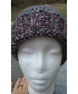 NEW Knitted Hand Made Unisex Unique Ribbed Cuff Beanie Hat - $20.00