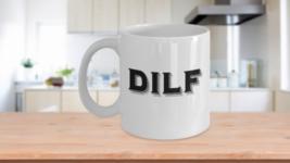 DILF Funny Christmas Gift Idea Husband Dad Men Coffee Cup - $14.65+