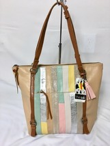The Sak NWT $179 Palermo Leather Large Tote California Multi-Texture Top... - $64.00