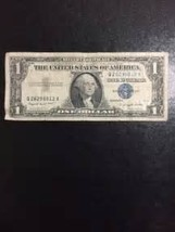 1957 blue seal silver certificate - $18.00