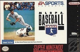MLBPA Baseball (Super Nintendo Entertainment System, 1994) GAME ONLY - $5.78