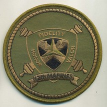 Usmc 12TH Marines Subdued Patch @ - $1,000.00