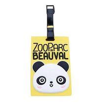 PANDA SUPERSTORE 2 Pcs Lovely Baggage Labels Handbag Tags Claim Tags Portable Lu