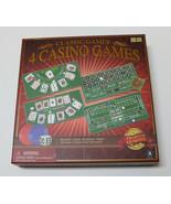 Merchant Ambassador Classic Collection-4 Casino Set 4, Games - $20.67