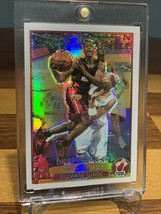 2003-04 TOPPS CHROME #115 Dwyane Wade Rookie REFRACTOR Miami Heat RC BGS... - $2,969.99