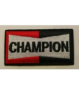 """Champion Spark Plugs PATCH~Embroidered~3 1/2"""" x 1 3/4""""~Iron Sew~Ships FREE  - $4.75"""
