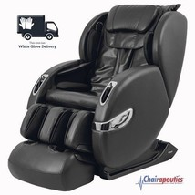 Black Titan Lucas L-Track Zero-G Calf Massage Chair Bluetooth - White Gl... - $2,749.00