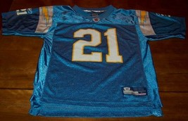 San Diego Chargers #21 Tomilinson Nfl Football Jersey Youth Large 14-16 - $24.74