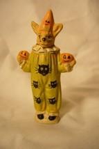Vaillancourt Folk Art Halloween Clown Rabbit Limited! image 1
