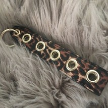 Victoria's Secret Wristlet Strap Leopard Key Chain Bag Charm NWT - $5.40