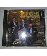 CD Bach on Sax, J. S. Bach, Amherst Saxophone Qu - (Compact Disc) - $8.80