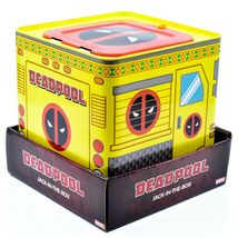 Entertainment Earth SDCC 2019 Exclusive Deadpool Retro Style Jack-in-the-Box image 5