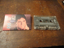 CASSETTE David Baroni 'The Other Side' Diadem 1991 Christian pop male vo... - $3.99