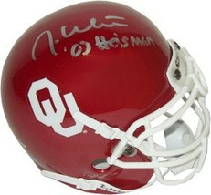 Jason White signed Oklahoma Sooners Authentic Mini Helmet - $52.95