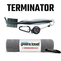 Clip Wipes Greens Towel Plus Terminator Brush Silver - $20.21