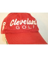 Cleveand Golf Embroidered Logo Red Strapback Dad Trucker Baseball-style ... - $24.95