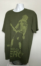 Hard Rock Cafe Green Day Working Class Hero Sig Series Chicago T Shirt M... - $28.66