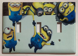 Minions Help me up Light Switch Power Duplex Outlet Wall Cover Plate Home decor image 5