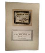 Ex Libris Book Plate Exlibris Lt. Col Military Intelligence Walter Pratt - $49.49