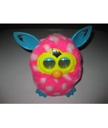 Furby Boom Pink White Blue Polka Dot Talking Hasbro Interactive 2012 Tested - $44.54