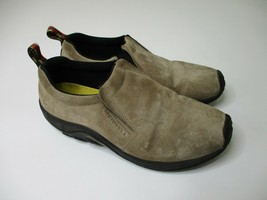 Merrell Jungle Moc Classic Taupe Shoes Men Size 10.5 Air Cushion Slip On - $29.88