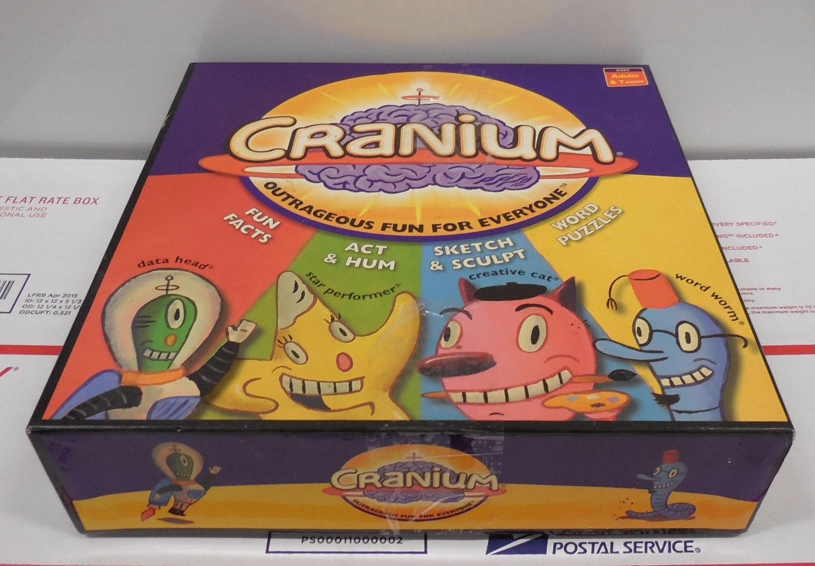 Cranium The Game For Your Whole Brain By And 50 Similar Items