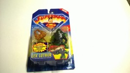 New Kenner Superman Lex Luthor with Kryptonite Armor & Launcher Action F... - $14.84